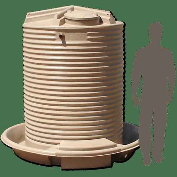 CS2700_2,700-Litre-(600-Gallon)-Poly-Cup-&-Saucer-Tank_sil