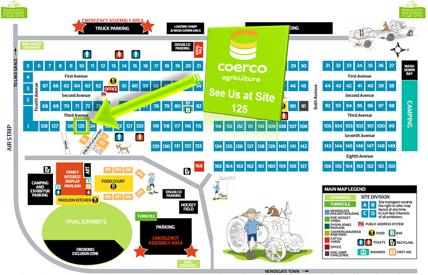 Coerco 125 Branded Newdegate Site Map.png