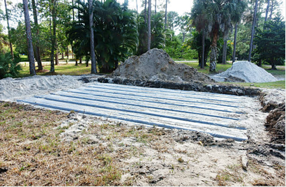 large-leach-drain-system