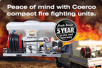 Compact Fire Fighting Units