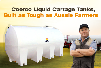 Coerco Liquid Cartage Tanks Promo