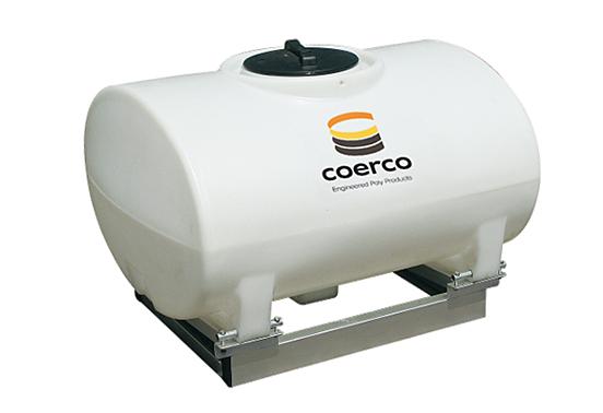 400-litre Coerco Sump Based liquid transport tank