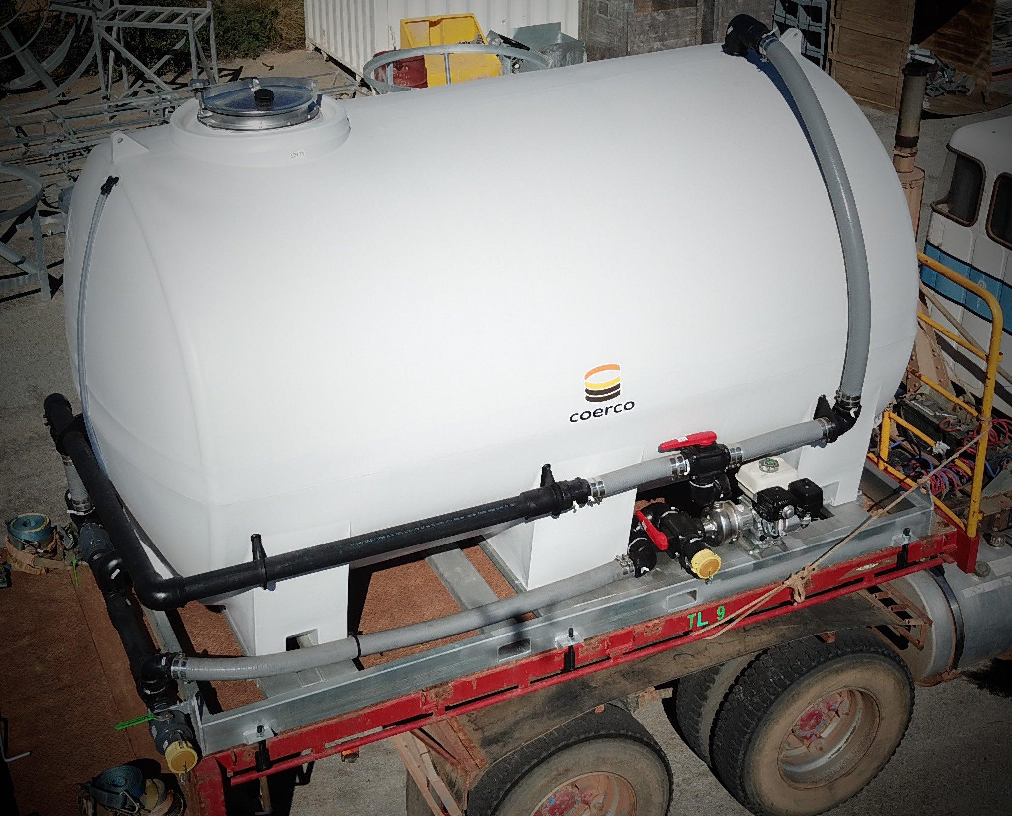 Coerco 10000Ltr Water Transport Tank
