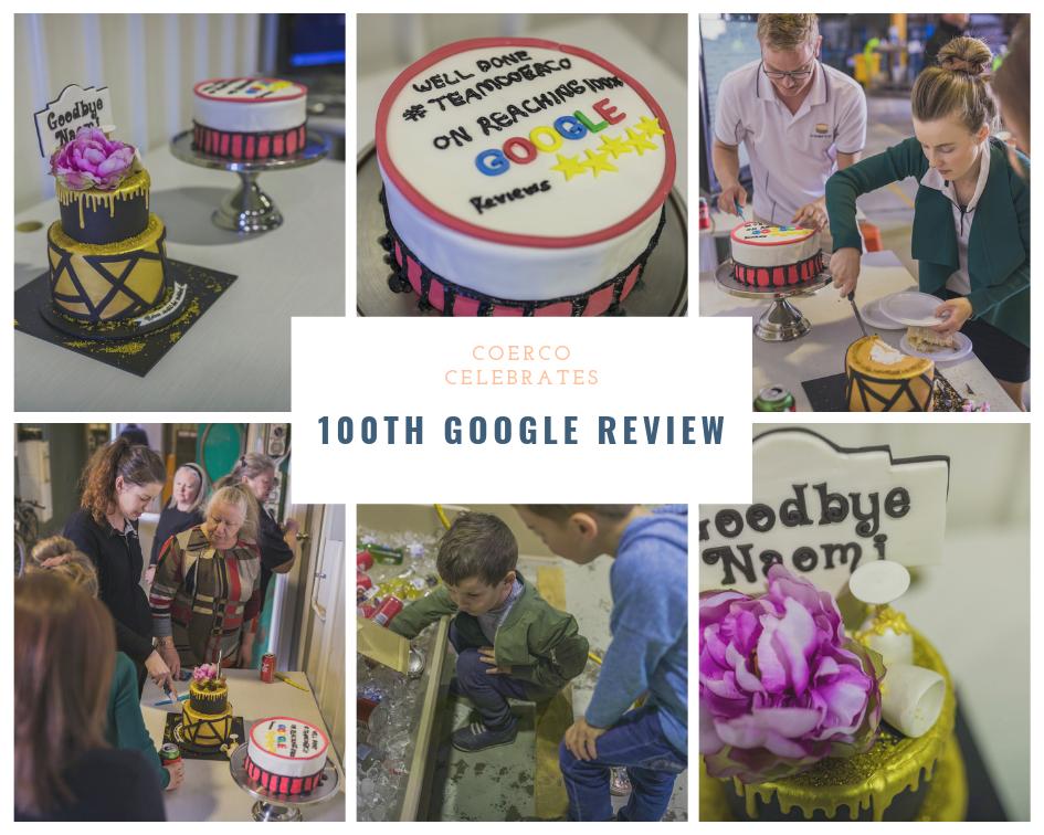 Coerco Celebrates 100th Google Review
