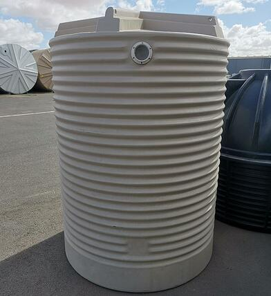 Coerco Corrugated Water Tank showing Overflow-1