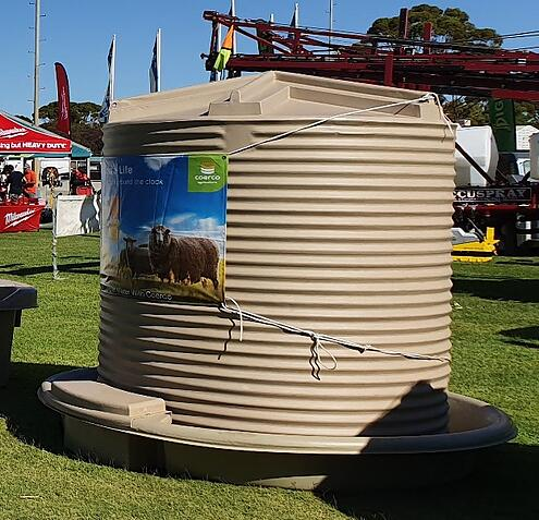 Coerco Cup and Saucer at the Wagin Woolorama 2020