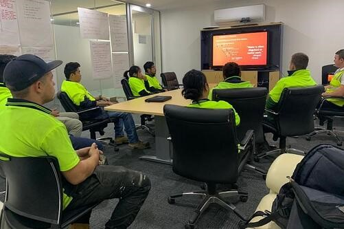 Coerco Staff Attending Lean Manufacturing Awareness Training