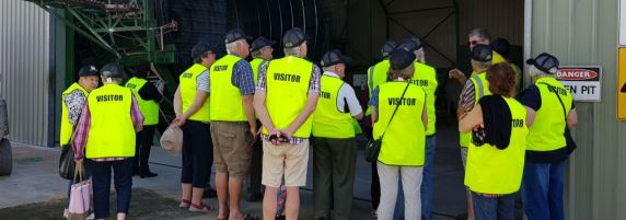 Coerco Visitors for Wattle Week