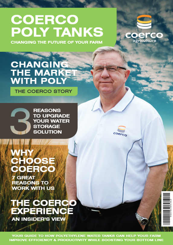 Coerco Water Tanks - Changing the Future of your Farm