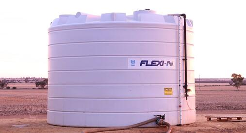 Coerco liquid fertiliser storage tank