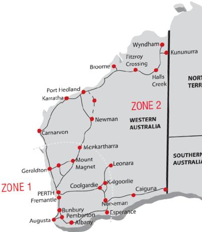 Freight Zones