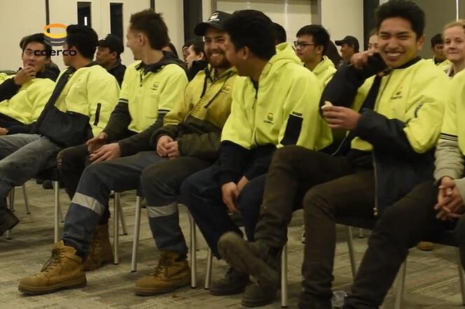 Happy faces - Coerco staff
