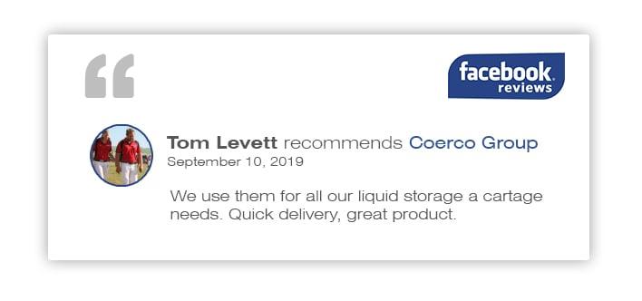 Liquid Cartage Facebook Review