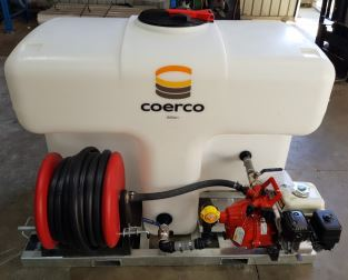 first new 1000 litre compact fire chief