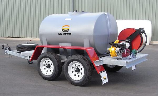 trailed diesel transport equipment
