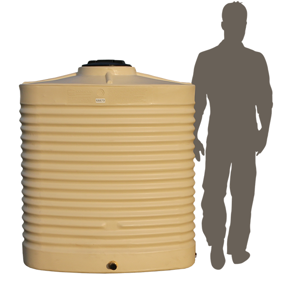 <p><strong>800 Litre Slimline Poly Water Tank</strong></p>