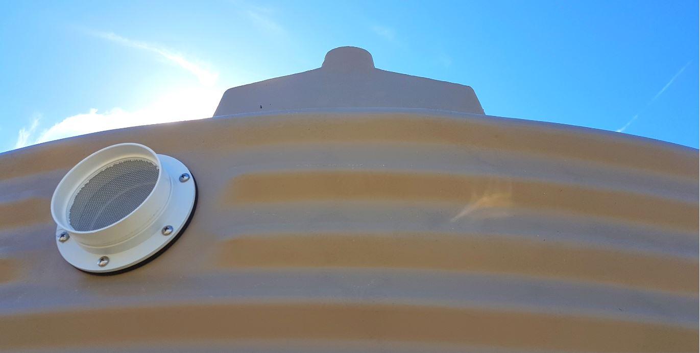 Coerco rainwater tank roof-1