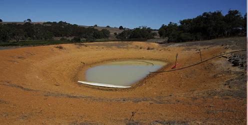 Farm Dam.