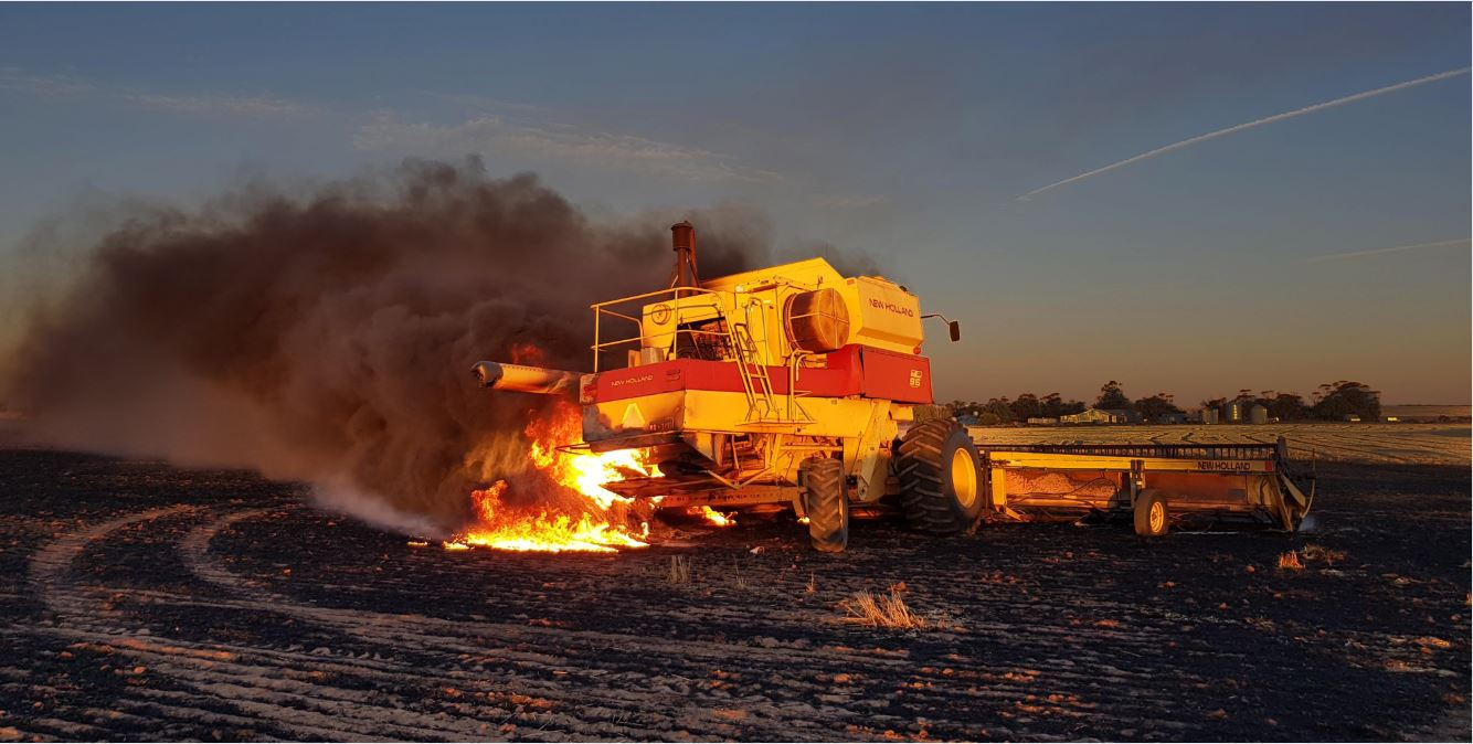 Farm Fire Fighting Units: 7 Quick Reminders to Prevent Header Fires During Harvest Season