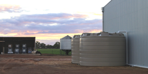 McNeill's 2x 50kl Water Tanks