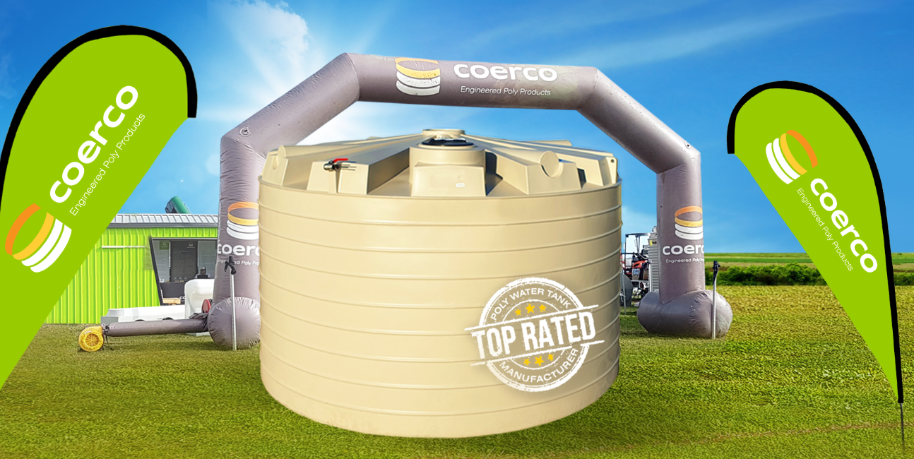Promo on offer 25,000 litre premium flat walled water tank