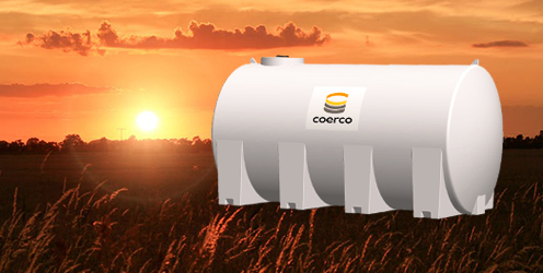 The new 17,000 litre liquid transport tank from Coerco